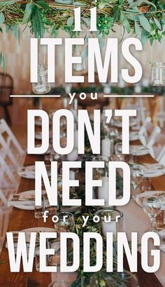 11 Items You Don&;t Really Need For Your Wedding&;Save The Money For Your Honeymoon! 11 Items You Don&;t Really Need For Your Wedding&;Save The Money For Your Honeymoon! Alison Eaton alisonreaton Wedding 11 Items […] planning tips Wedding Guest List, Wedding Advice, Plan Your Wedding, Budget Wedding, Weddings On A Budget, Wedding Ideas, Wedding Planning On A Budget, Diy Wedding To Do List, Free Wedding Stuff