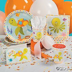 Under the Sea Boys Birthday Theme - OrientalTrading.com