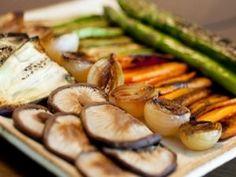 Receita – Legumes grelhados