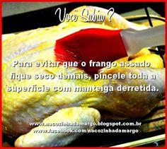 Na Cozinha da Margô: Você sabia?