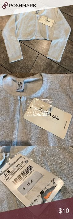 Brand new Crop cardigan Zara kids size 5-6 Brand new w tag Crop cardigan Zara kids size 5-6 Zara Shirts & Tops Camisoles