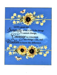 Your place to buy and sell all things handmade Xmas Cards, Greeting Cards, Courage To Change, Blue Sky Background, Serenity Prayer, White Envelopes, Adult Coloring, Happy Life, Alice In Wonderland