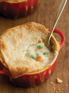 Pot Pie by CandyO, can be gluten free simply by changing the ingredients from regular flour to GF flour, etc.