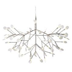 Över matsalsbordet   Heracleum taklampa från Moooi är formgiven av Bertjan Pot och har hämtat inspiration ...