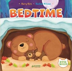 Bedtime [board book] by Kirn, W. Library Card, Winnie The Pooh, Clever, Hilarious, Teddy Bear, Crafty, Disney Characters, Children, Illustration
