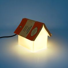 Book Rest Lamp ~~ doubles as a light AND a place to put your book. [made in the UK]