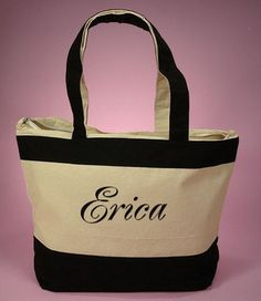 personalized tote bags | ... Blog » personalized tote bags_Advantage Bridal Top Wedding Blog