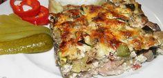 Lasagna, Quiche, Bacon, Goodies, Menu, Chicken, Breakfast, Ethnic Recipes, Food