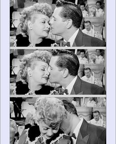 Lucille Ball and Desi Arnaz.  After reading both their biographies...you KNOW they were in love with each other until they died.  Even if they were divorced.