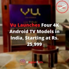 Vu Ultra 4K TV series specifications, features:- Vu has offered the ultra-edge 4K (3,840x2,160 pixels) DLED (Direct LED) display on its new 4K TV models, with 400 nits of brightness. Direct LED displays include a full array of LEDs behind the LCD panel to illuminate the screen. The display panel that comes in four different screen sizes also supports Dolby Vision, HDR10, and Hybrid Log Gamma (HLG) standards. On the part of audio output, the TVs have Dolby Digital+ and DTS Virtual:X surround… Startup News, Display Panel, Dolby Digital, Screen Size, Tvs, Tv Series, Audio, Models, Templates