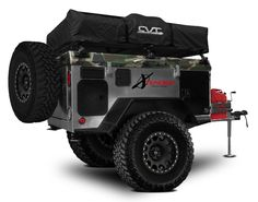 Thinking about joining the growing number of off-road trailer enthusiasts? If you plan to purchase your own trailer, here's a concise buyer's guide to off-road, overlanding focused trailers for Off Road Camper Trailer, Trailer Tent, Trailer Build, Camper Trailers, Jeep Camping Trailer, Expedition Trailer, Overland Trailer, Off Road Camping, Camping Gear