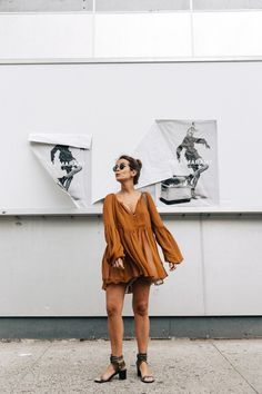Blouse_Mustard-Isabel_marant_Sandals-Topknot-Outfit-Street_Style-10