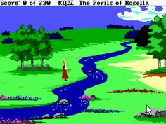 Rosella King's Quest... my all time favorite computer game.