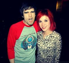 Hayley Williams & Brendon Urie.
