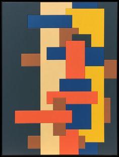 tableau en bois peint cascade 90x120 cm prix 2550 art contemporain peinture moderne. Black Bedroom Furniture Sets. Home Design Ideas