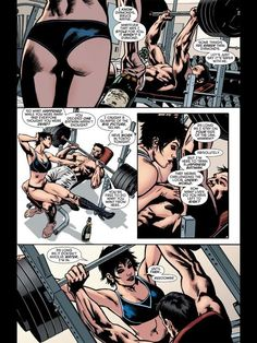 Selina Kyle and Bruce Wayne in Batman Inc #1: