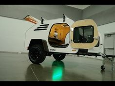 Learn more about the Oregon Trail'R TerraDrop, and off road worthy teardrop camper
