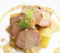 Did you know that you can pair white wine with pork? Check out this Pork Tenderloin Cordon Bleau paired with a white Burgundy.