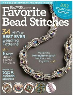 ISSUU - Beadwork Magazine Favorite Bead Stitches 2012 by BeadworkBrasil...FREE MAGAZINE!!