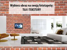 #Fototapety z cegłą to zwykle mur z białej lub czerwonej cegły, a także z kostki lub kamienia. Odpowiednio dobrane potrafią nadać #wnętrzom niepowtarzalnego uroku.