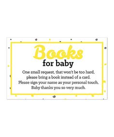 This Yellow Book Request Cards - Set of 18 is perfect! #zulilyfinds