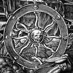Detail from Triumph of Death, by Philip Galle, 1565 after Maarten van Heemskerck