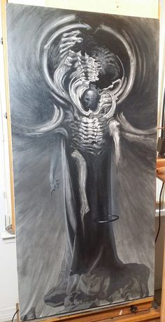 Allen Williams Art ~ Almost done. Allen Williams, Character Art, Character Design, Macabre Art, Occult Art, Creature Concept, Paintings I Love, Coloring Book Pages, Fantasy Artwork