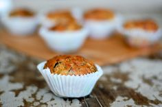 Savory muffins, recipe from The Hummingbird Bakery's amazing Cookbook .