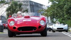 "This 1957 Maserati 450S that was raced in the original Speed Week and reputed to be currently worth about $7 million was brought to the island by racer and vintage car collector Samuel ""Rob"" Walton chairman of Wal-Mart."