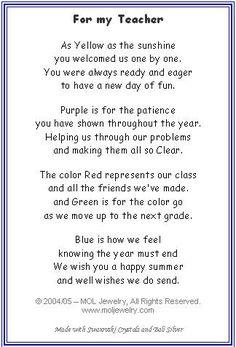Goodbye Poem To Preschoolers  Melkan Ini Blogthis Kongsi Ke