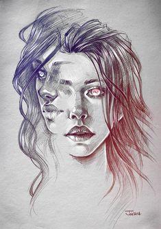 Faces by sashajoe.deviantart.com on @DeviantArt