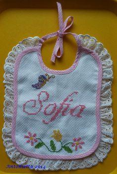 Bavetta Sofia #ricamo #embroidery