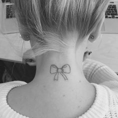 cute bow tattoo #ink #YouQueen #girly #tattoos