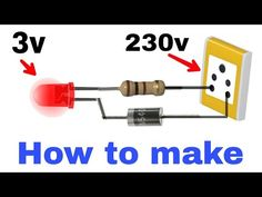 239 volt se 3 volt ki LEC kese chlaye so simple. Simple Electronics, Hobby Electronics, Electronics Basics, Electronics Projects, Led Projects, Electrical Projects, Arduino Projects, Solar Charging Station, Android Phone Hacks