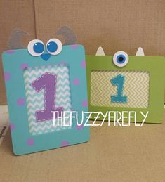 This is for 1 frame of your choice Sulley or Mike...see selections in the drop down box. They are sure to add a special touch to any party, photo shoot or nursery decor. Looks adorable with a picture or quote from the book inside( I do not provide either). It is a wood frame...please