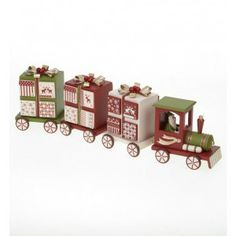 Wooden Gift Box advent Train - £39.99 Beautiful painted wooden train advent calendar. Fill the drawers with your own gifts and make your own memories. Perfect for children young and old. Fill with your own treats or gifts inside, making it all the more personal and special. Wooden Advent Train Size: 48x9x14cm - See more at: http://www.christmasshopholt.co.uk/shop/wooden-gift-box-advent-train/#sthash.aOMFyoVc.dpuf