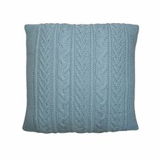 If you can knit, purl and cable you'll have no problems knitting this fashionable cushion. The cushion is adaptable to your own decor - just pick a shade of yarn to match your colour scheme.