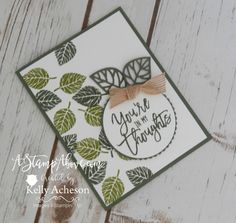Leaves Everywhere by Technique_Freak - Cards and Paper Crafts at Splitcoaststampers