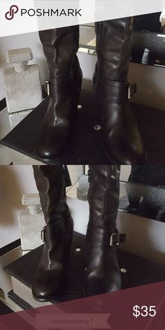 3a462969f7a9d Shop Women s Arturo Chiang Black size 7 Over the Knee Boots at a discounted  price at Poshmark.