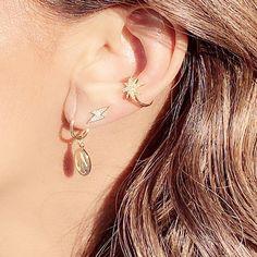 Great summer accessories! Stack it up! #jewelry #trendyjewelry #daintyjewelry #goldjewelry #earringsoftheday #earringsofinstagram Trendy Jewelry, Dainty Jewelry, Gold Jewelry, Summer Accessories, Bra Straps, Drop Earrings, Delicate Jewelry, Fashion Jewelry, Gold Jewellery