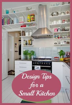 Open Shelves Kitchen Design Ideas images of beautifully organized open kitchen shelving diy kitchen design ideas kitchen cabinets islands backsplashes diy Top Tips Design Ideas For Small Kitchens