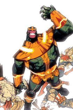 kristaferanka:  my What if? Infinity - Thanos variant