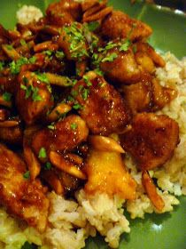 Slice of Southern: General Tso's Chicken - Lighter Version