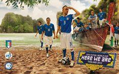 Team Italia - Nazionale A - Divisione Calcio a5  #FifaFutsalWorldCup 2012