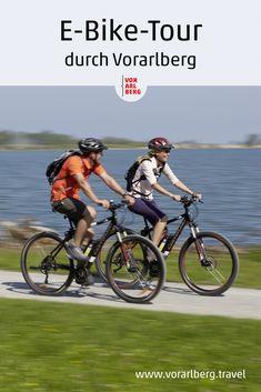 Sehnsuchtsziel Berge: mit dem E-Bike kommen Biker vom Bodensee bis an den Fuß des Piz Buin. Einmal quer durch Vorarlberg - ein Erlebnisbericht über eine E-Bike-Tour durch Vorarlberg. Fürstentum Liechtenstein, Biker, Tours, Longing For You, Mountains