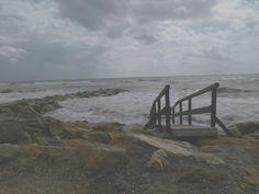 Sea and the rain.