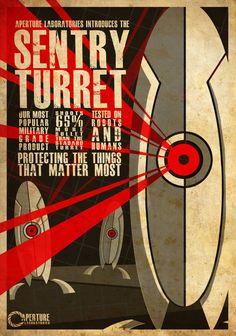 Aperture Turrets by Alice0fSpades on DeviantArt
