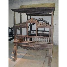 Antique Anglo Indian Regency Period Canopy Bed, c. 1820   Eron Johnson Antiques