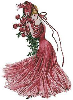 women+cross+stitch   keywords woman lady women more designs by tereena clarke new york show ...