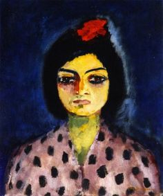 Kees van Dongen, Portrait of a Gyspsy, c.1910, Oil on canvas, 55,3 x 46,3 cm, Private collection